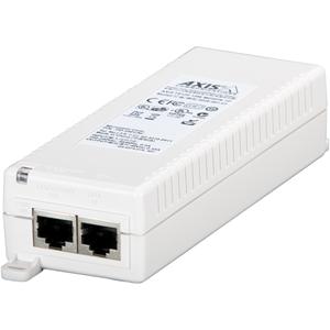 Injecteur POE AXIS T8120 - 110 V AC, 220 V AC Entrée - 48 V DC Sortie - 1 10/100/1000Base-T Output Port(s) - 15 W