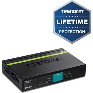 Commutateur Ethernet TRENDnet TPE-S44 8 Ports - 8 x Fast Ethernet Réseau - 2 Couche supportée - 5 an(s) Garatie limitée