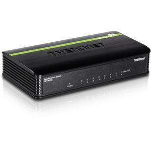 Commutateur Ethernet TRENDnet TE-100S8 8 Ports - 2 Couche supportée - 5 an(s) Garatie limitée
