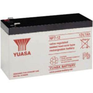 Batterie Yuasa NP7-12FR - 7000 mAh - Scellées au plomb-acide (SLA) - 12 V DC - Batterie rechargeable
