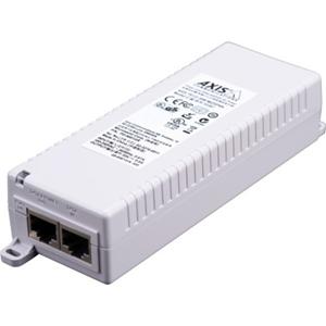 Injecteur POE AXIS T8133 - 120 V AC, 230 V AC Entrée - 1 10/100Base-TX Input Port(s) - 1 10/100Base-TX Output Port(s) - 30 W - Montable sur mûr/étagère/rail DIN
