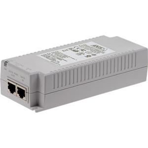 Injecteur POE AXIS T8134 - 110 V AC, 230 V AC Entrée - 55 V DC Sortie - 10/100/1000Base-T Input Port(s) - 10/100/1000Base-T Output Port(s) - 60 W - Montable sur mûr/étagère/rail DIN