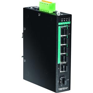 Commutateur Ethernet TRENDnet TI-PG541 5 Ports - 2 Couche supportée - Montage sur rail