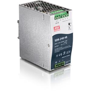 Module d'Alimentation Propriétaire TRENDnet TI-S24048 - 240 W - Rail DIN - 120 V AC, 230 V AC Entrée - 48 V DC Sortie - 94% Efficacité