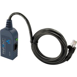 Injecteur POE Veracity PINPOINT VAD-PP - 1 10/100Base-TX Input Port(s) - 2 10/100Base-TX Output Port(s) - 30 W