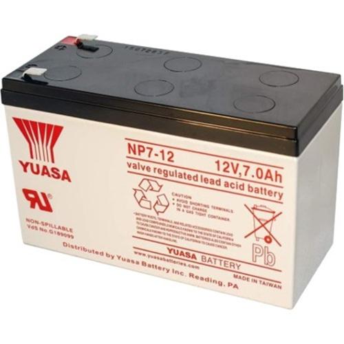 Batterie Yuasa NP7-12 - 7000 mAh - Scellées au plomb-acide (SLA) - 12 V DC - Batterie rechargeable