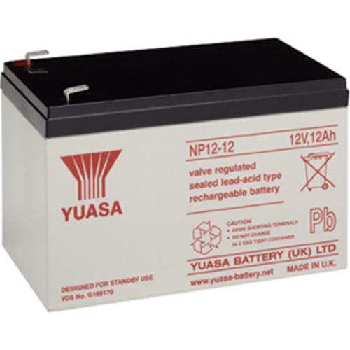 Batterie Yuasa NP12-12 - 12000 mAh - Scellées au plomb-acide (SLA) - 12 V DC - Batterie rechargeable