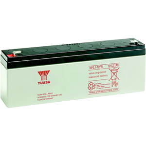 Batterie Yuasa NP2.1-12 - 2100 mAh - Scellées au plomb-acide (SLA) - 12 V DC - Batterie rechargeable