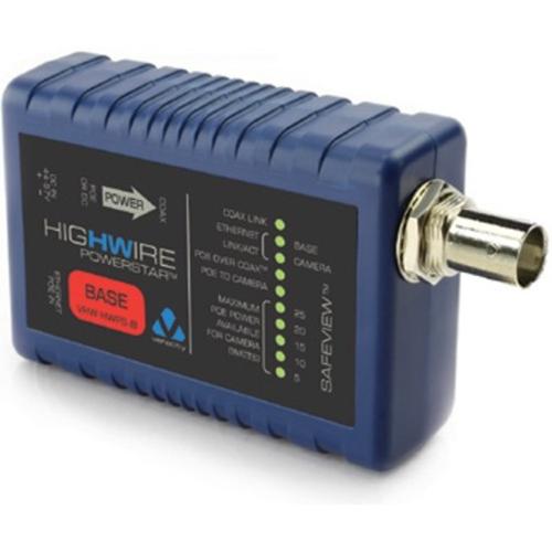 Unité de caméra PoE à coaxial/Ethernet Veracity HIGHWIRE PowerStar