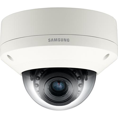 Caméra réseau Hanwha Techwin WiseNetIII SNV-7084RP 3 Mégapixels - Couleur, Monochrome - 25 m Night Vision - H.264, MPEG-4 AVC, Motion JPEG - 2048 x 1536 - 3 mm - 8,50 mm - 2,8x Optique - CMOS - Câble - Dome