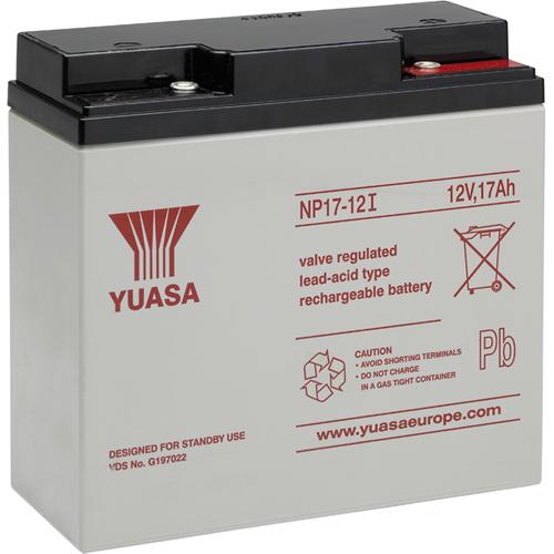 Batterie Yuasa - 17000 mAh - Lead Acid - 12 V DC - Batterie rechargeable