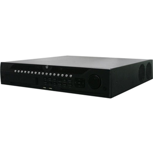 Station de surveillance vidéo Hikvision DS-9664NI-I8 - 64 Canaux - Enregistreur Réseau Vidéo - MPEG-4, H.264, H.265, H.264+ Formats - Entrée de vidéo composite - 1 Audio In - 2 Audio Out - 2 VGA Out - HDMI