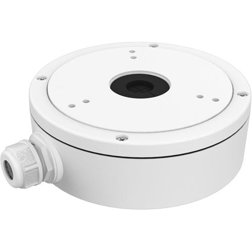 Boîte de Montage Hikvision DS-1280ZJ-M pour Caméra réseau - 4,50 kg Max - Blanc