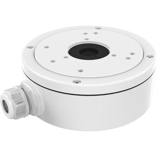 Boîte de Montage Hikvision DS-1280ZJ-S pour Caméra réseau - 4,50 kg Max - Blanc