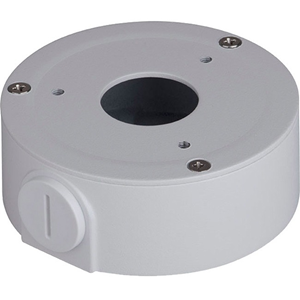 Boîte de Montage Dahua DH-PFA134 pour Caméra réseau, Montant - 1 kg Max - Blanc