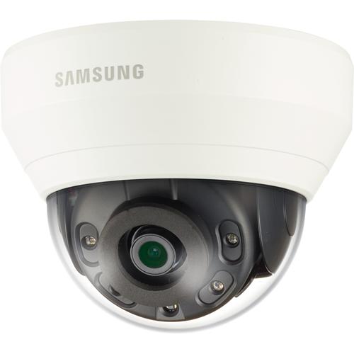 Caméra réseau Samsung WiseNet QND-6010R 2 Mégapixels - Couleur, Monochrome - 20 m Night Vision - Motion JPEG, H.264, H.265 - 1920 x 1080 - 2,80 mm - CMOS - Câble - Dome