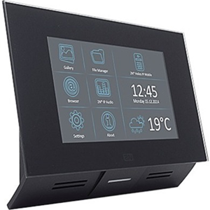 "Poste maître d'interphone 2N Indoor Touch 17,8 cm (7"") - Écran tactile LCD - Full-duplex - Entrée de porte"