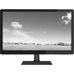 """Moniteur LCD W Box WBXMP1854 47 cm (18,5"""") - 16:9 - 9 ms - Résolution 1360 x 768 - 16,7 Millions de Couleurs - 200 cd/m² - 50,000:1 - HD - Hauts-Parleurs - HDMI - VGA - Noir luisant, Noir mat"""
