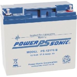 Batterie Power-Sonic PS-12170 - 17000 mAh - Scellées au plomb-acide (SLA) - 12 V DC - Batterie rechargeable - 1 / Paquet