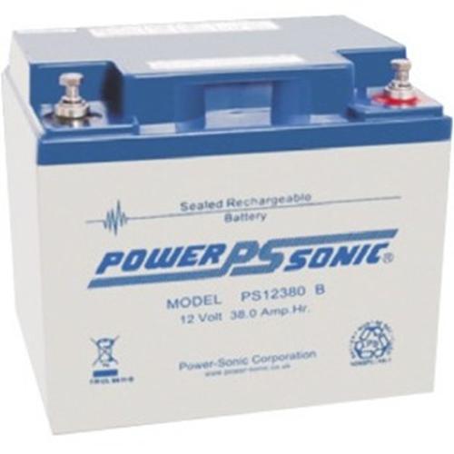 Batterie Power-Sonic PS-12380 - 38000 mAh - Scellées au plomb-acide (SLA) - 12 V DC - Batterie rechargeable