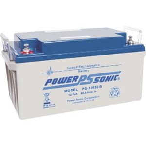 Batterie Power-Sonic PS-12650 - 65000 mAh - Scellées au plomb-acide (SLA) - 12 V DC - Batterie rechargeable