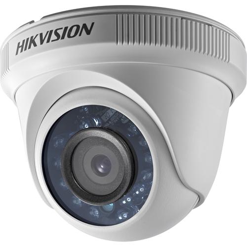 Caméra de surveillance Hikvision Turbo HD DS-2CE56D0T-IRF 2 Mégapixels - Couleur - 20 m Night Vision - 1920 x 1080 - 3,60 mm - CMOS - Câble - Fixation murale, Montant, Montage en Coin, Support pour boîte de jonction