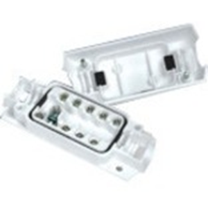 Boîte de Montage Potter EN3-JB9-HD - Acrylonitrile butadiène styrène (ABS) - Blanc