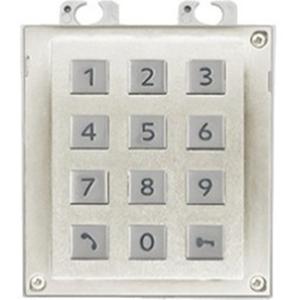 2N Clavier sécurité pour Panneau d'entrée de porte - Blanc, Nickel
