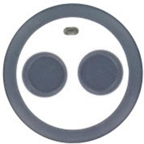 Honeywell 2 Boutons Télécommande émetteur - Fixation Murale
