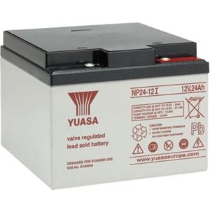 Batterie Yuasa NP24-12 - 24000 mAh - Lead Acid - 12 V DC - Batterie rechargeable