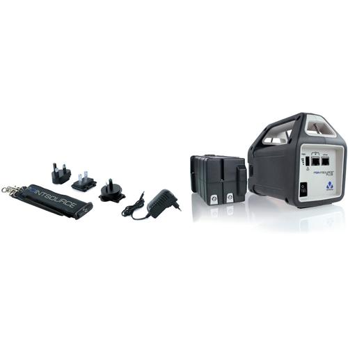 Injecteur POE Veracity POINTSOURCE Plus - 48 V DC Sortie - 1 10/100Base-TX Input Port(s) - 1 10/100Base-TX Output Port(s)