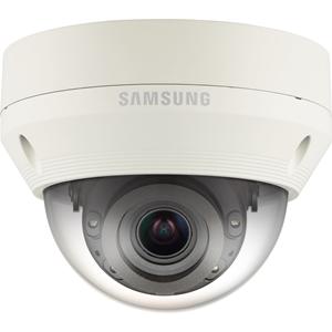 Caméra réseau Hanwha Techwin WiseNet QNV-6070RP 2 Mégapixels - Couleur, Monochrome - 30 m Night Vision - Motion JPEG, H.264, H.265 - 1920 x 1080 - 2,80 mm - 12 mm - 4,3x Optique - CMOS - Câble - Dome
