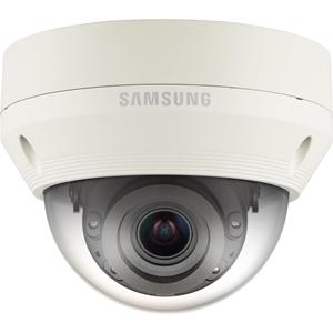 Caméra réseau Hanwha Techwin WiseNet QNV-7080RP 4 Mégapixels - Monochrome, Couleur - 30 m Night Vision - Motion JPEG, H.264, H.265 - 2688 x 1520 - 2,80 mm - 12 mm - 4,3x Optique - CMOS - Câble - Dome