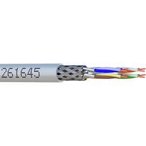 Câble réseau elbaC - Catégorie 6a - pour Périphérique réseau, Caméra de surveillance - 10 m - Blindage - 1 x RJ-45 Mâle Réseau - 1 x RJ-45 Mâle Réseau - 1,25 Go/s - Câble de Raccordement - Gris