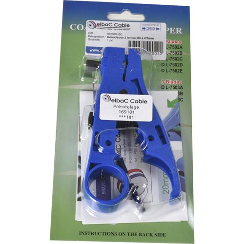 Outil de Serrage elbaC - Bleu - 102 g - 1 / Boîte