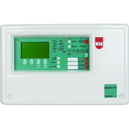 FINSECUR Baltic 512 UP Panneau de contrôle de l'alarme incendie - Addressable Panel