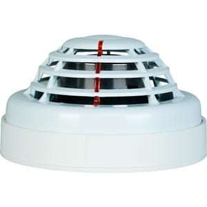 Détecteur de fumée FINSECUR Conventional CAP100 - Optique - Blanc - 24 V DC - Support