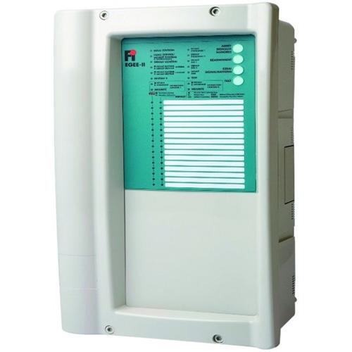 FINSECUR Egee II Panneau de contrôle de l'alarme incendie - 16 Zone(s)