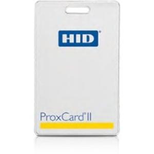 Badge HID ProxCard II 1326 - Imprimable - Carte Proximity - 85,98 mm Largeur x 54,23 mm Longueur - Blanc luisant - Chlorure de polyvinyle (PVC).