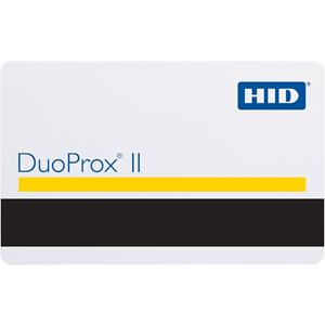 Badge HID DuoProx II 1336 - Imprimable - Carte Proximity - 85,60 mm Largeur x 53,98 mm Longueur - Blanc luisant - Chlorure de polyvinyle (PVC).