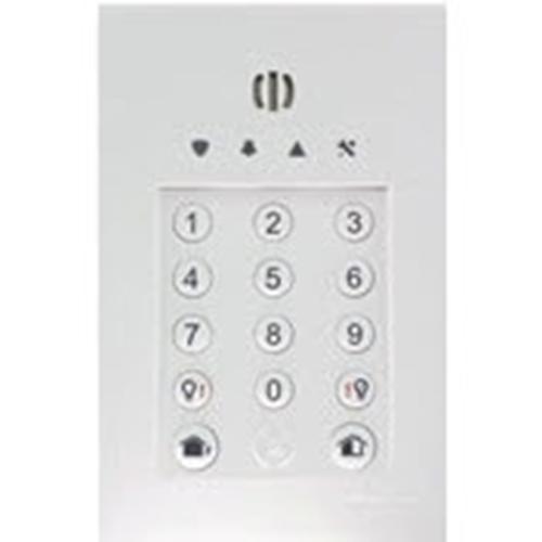 Lecteur de carte/Dispositif d'accès clavier Honeywell GKP-S8M - Code clé, Proximité - 10 Utilisateur(s) - 1 km Plage de fonctionnement - 230 V AC