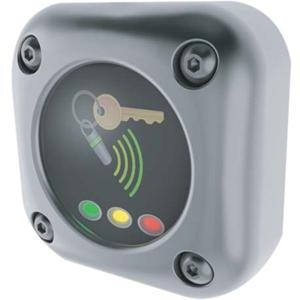 Dispositif d'accès par carte Paxton Access - Chrome - Porte - Proximité - 1 Porte(s) - 12 V DC - Support