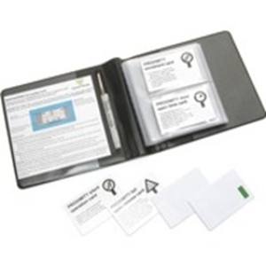 Badge Paxton Access - Préimprimé, Imprimable - Carte Proximity - 86 mm Largeur x 55 mm Longueur - 10 - Vert