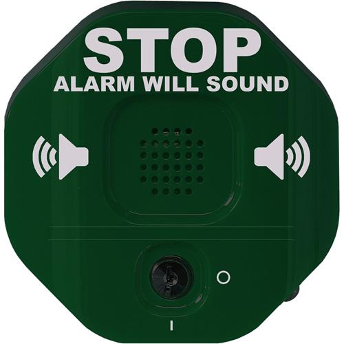 Alarme de Sécurité STI Exit Stopper STI-6400 - 105 dB - Audible - Montage sur porte - Vert