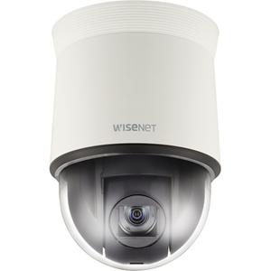 Caméra de surveillance Hanwha Techwin WiseNet HD+ HCP-6320A 2,4 Mégapixels - Couleur, Monochrome - 1920 x 1080 - 4,44 mm - 142,60 mm - 32x Optique - CMOS - Câble - Dome