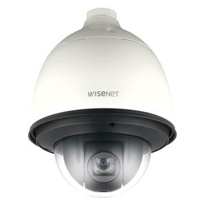 Caméra de surveillance Hanwha Techwin WiseNet HD+ HCP-6320HA 2,4 Mégapixels - Couleur, Monochrome - 1920 x 1080 - 4,44 mm - 142,60 mm - 32x Optique - CMOS - Câble - Dome - Fixation murale, Montage sur tube, Montage en Coin, Montage parapet, Montant