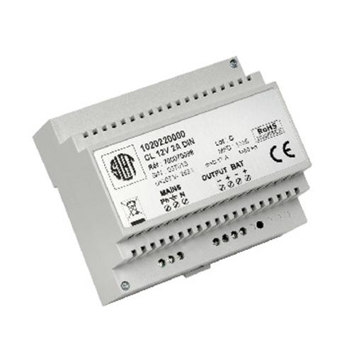 Système d'alimentation Slat - 12 V DC Tension de Sortie - Rail DIN