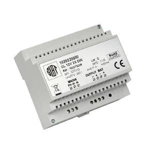 Système d'alimentation Slat - 230 V AC Input Voltage - 12 V DC Tension de Sortie - Rail DIN - Modulaire