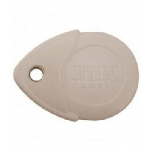 Porte-clé de proximité avec étiquette Urmet - 470 mm Largeur - Noir - ABS
