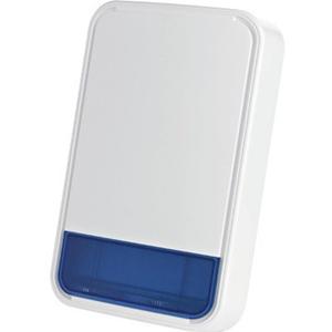 Sirène/Lumiére stroboscopique Visonic SR-740 PG2 - Sans fil - 3,60 V - 105 dB(A) - Audible, Visuel